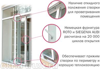 Балконные двери пластиковые. цены производителя!.