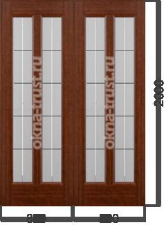 Двери купе на роликах
