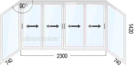Окна для дома п44т. низкие цены!.