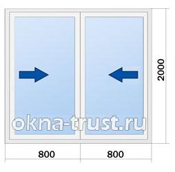 Цены на двери Rehau Euro Slide
