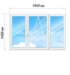 Цены на окна из профиля Рехау Экшен