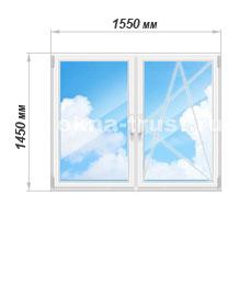 Цены на окна Рехау Блиц Нью